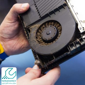 تعمیر فن و تعویض خمیر سیلیکون PS4